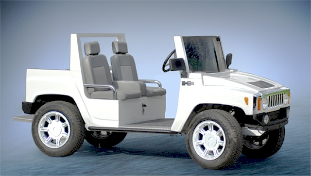 ACG Hummer H3 Golf Cart